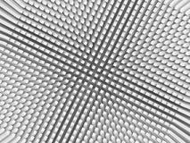 Fond numérique abstrait avec le modèle inverti de perspective illustration stock