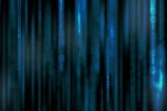 Fond numérique abstrait de matrice de la science-fiction photographie stock
