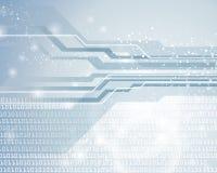 Fond numérique de technologie illustration libre de droits