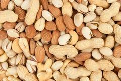 fond nuts Photographie stock libre de droits