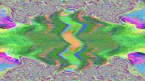 Fond olographe rêveur de modèle de Cyberpunk géométrique multicolore illustration de vecteur
