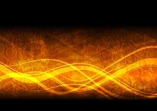 Fond ondulé abstrait illustration de vecteur