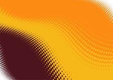 Fond ondulé abstrait Image libre de droits