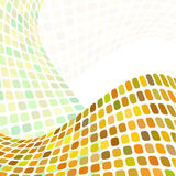 Fond ondulé abstrait Images stock