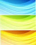 Fond ondulé abstrait Photo libre de droits