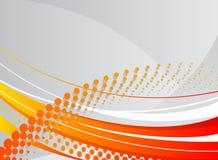 Fond ondulé abstrait illustration stock