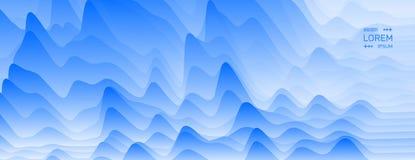 Fond ondulé abstrait Configuration avec l'illusion optique Illustration de vecteur illustration de vecteur