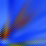Fond ondulé bleu illustration libre de droits