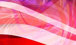 Fond ondulé coloré abstrait lissez, courbez Illustration de vecteur illustration stock