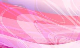 Fond ondulé coloré abstrait lissez, courbez Illustration de vecteur illustration libre de droits