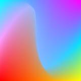 Fond ondulé de vecteur abstrait Image libre de droits