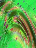 Fond ondulé multicolore Image stock