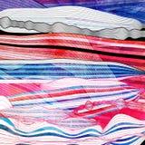 Fond onduleux abstrait d'éléments Image stock