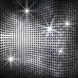 Fond onduleux abstrait de mosaïque Images libres de droits