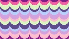 Fond onduleux aux nuances de l'ultraviolet illustration libre de droits