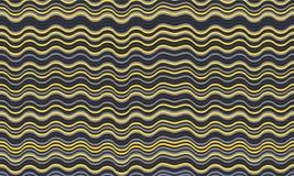 Fond onduleux frais de rayures Texture d'ondulation illustration de vecteur