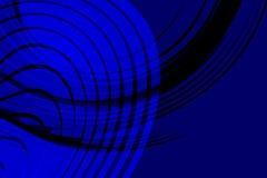 Fond onduleux ombragé bleu et noir de vecteur abstrait avec, lisse, courbe, illustration de vecteur illustration de vecteur