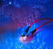 Fond optique de fibre Images libres de droits