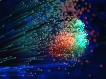 Fond optique de fibre photos libres de droits