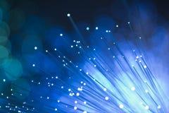 Fond optique de fibre Photographie stock libre de droits
