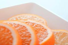 Fond orange 1 Images stock