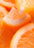 Fond orange Images stock