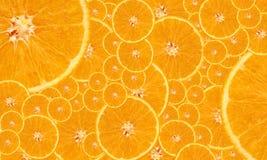 Fond orange Photographie stock libre de droits