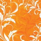 Fond orange Photo libre de droits