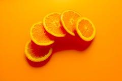 Fond orange Photos stock