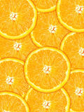 Fond orange Photographie stock