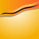 Fond orange abstrait élégant Photo libre de droits