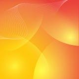 Fond orange abstrait élégant Photos libres de droits