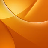 Fond orange abstrait Photographie stock libre de droits