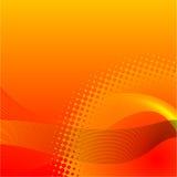 Fond orange abstrait Photos libres de droits