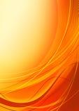 Fond orange abstrait Photo libre de droits