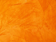 Fond orange abstrait Images stock