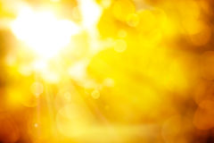 Fond orange abstrait d'automne Image libre de droits