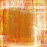 Fond orange affligé Images libres de droits