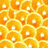 Fond orange découpé en tranches Photo libre de droits