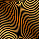 Fond orange d'or en métal abstrait de vecteur avec Image libre de droits