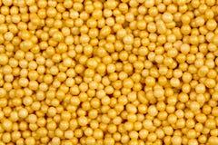 Fond orange de boule de gomme Texture abstraite de nourriture image libre de droits