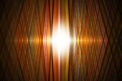 Fond orange de grille Photo libre de droits