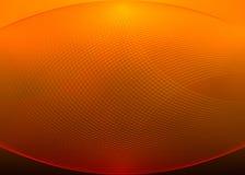 Fond orange de grille de vecteur Image libre de droits