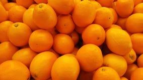 Fond orange de pile Photos libres de droits