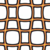 Fond orange de réseau Image stock