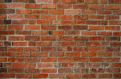 Fond orange de texture de mur de briques Fond pour le texte Concept extérieur d'architecture Abrégé sur orange sale mur de brique image libre de droits