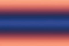 Fond orange et bleu linéaire de gradiend Photographie stock