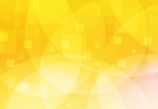 Fond orange et jaune d'abstrait Image libre de droits