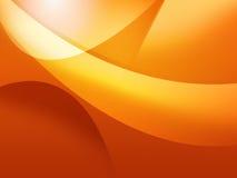 Fond orange frais Photo libre de droits