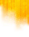 Fond orange lumineux Images stock